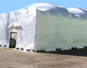 Le coperture in materiali termoretraibili: l'inserimento di aperture nella struttura