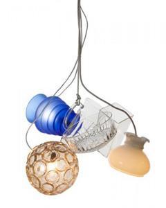La lampada a sospensione Multi Vase