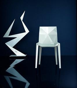 La sedia Origami della Biebi