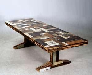 table Scrapwood by Piet Hein Eek