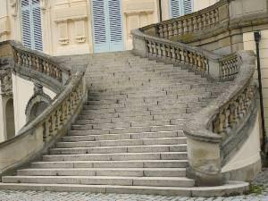 Scalinata di palazzo storico