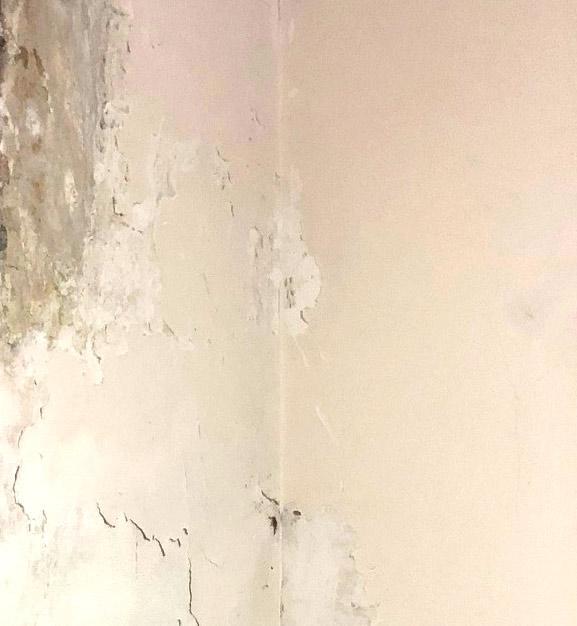 Umidità sulle pareti