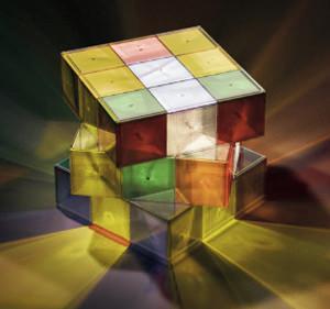 La Rubik's Lamp