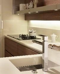 Cucine con gli schienali attrezzati - Alternativa piastrelle cucina ...