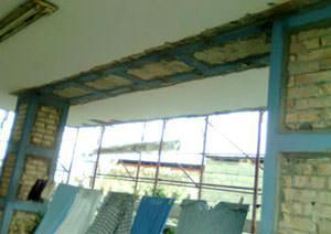 Il rafforzamento delle murature isolate: la costituzione del nuovo telaio