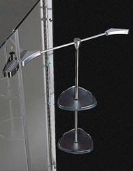 Cesana: mensola Tecnolux per doccia