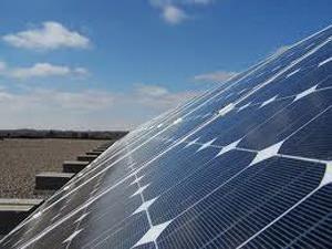 Dettaglio di un pannello fotovoltaico