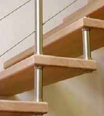 Manutenzione delle scale prefabbricate - Scale prefabbricate in legno ...