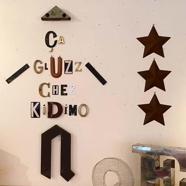 Lettere decorative Kidimo
