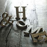 lettere decorative su Decoclico