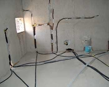 La protezione degli impianti posati a pavimento: un classico impianto a pavimento
