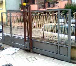 Il recupero di un cancello scorrevole: il nuovo cancello ristrutturato