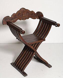 Sedie antiche e moderne for Savonarola sedia