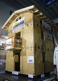 Test su edificio in legno_ Progetto Chi Quadrato.
