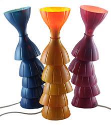 La lampada Snodiglia di Silvia Bragagnolo