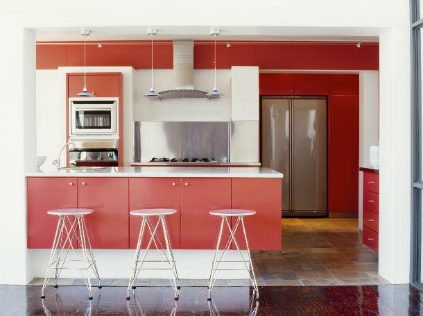 Cucina a penisola - Colori per cucina piccola ...