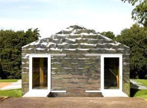 Balancing Barn: vista dell'ingresso a monte