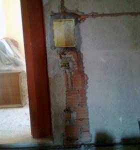 La sicurezza delle opere in laterizio non strutturali: l'asportazione di buona parte del tamponamento