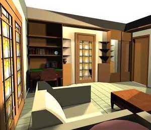 Ricomporre in modo diverso i mobili esistenti: l'idea progettuale
