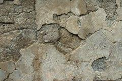 Effetto del fenomeno su intonaco a base cementizia