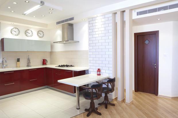 Ristrutturare la cucina open space