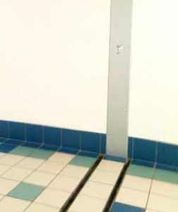 I giunti che rispettano l'estetica : un giunto di facciata con conseguente giunto a pavimento