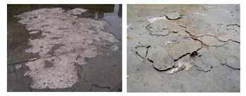 I danni provocati dal gelo alle pavimentazioni in calcestruzzo: i danni provocati dal ciclo gelo -disgelo
