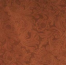Nextep, motivo damascato in colore mogano