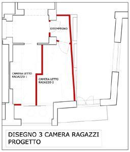 Ridistribuzione interna - Dividere una camera in due ...