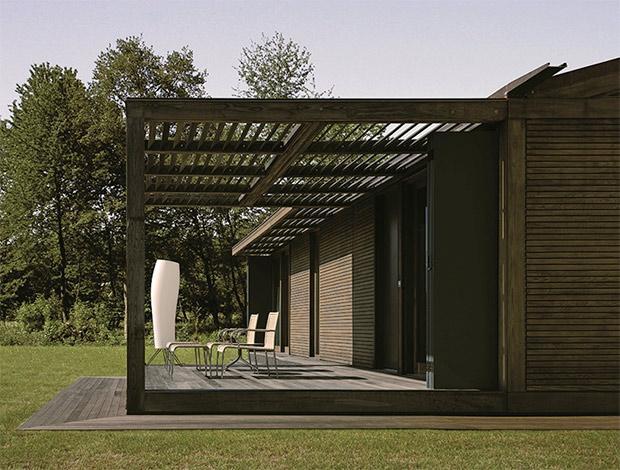 Legno Quadro è una casa progettata dell'Arch. Enrico Franzolini