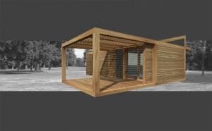 Casa modulare in legno Legnoquadro