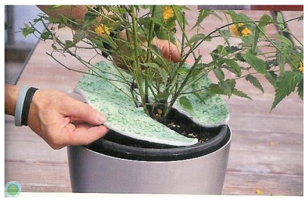 Disco in tessuto per piante Terralenx di Agraria Comand