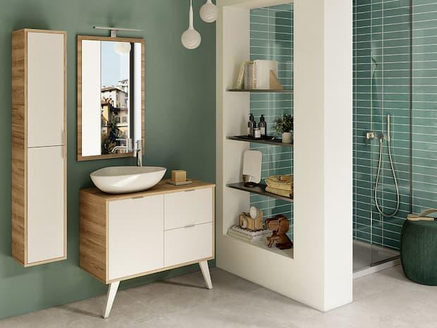 Idee per l'arredo bagno, IPERCERAMICA, serie Milù
