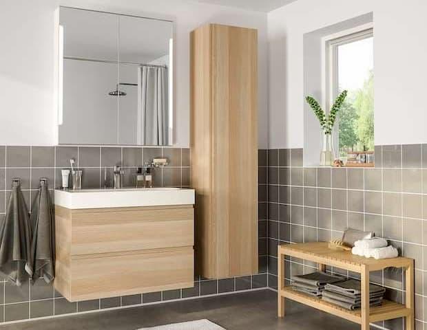 Soluzioni per il bagno, IKEA, serie Godmorgon