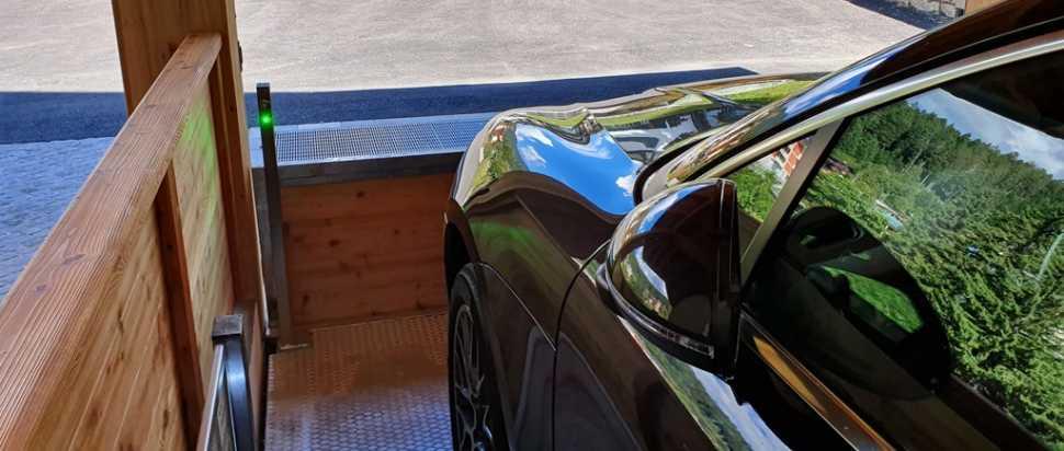 Lift Car P1 di Green Park