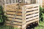 Compostiera fai da te, da gardenista.com