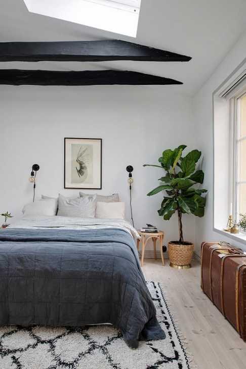 Il vintangi in camera da letto, da roomed.nl