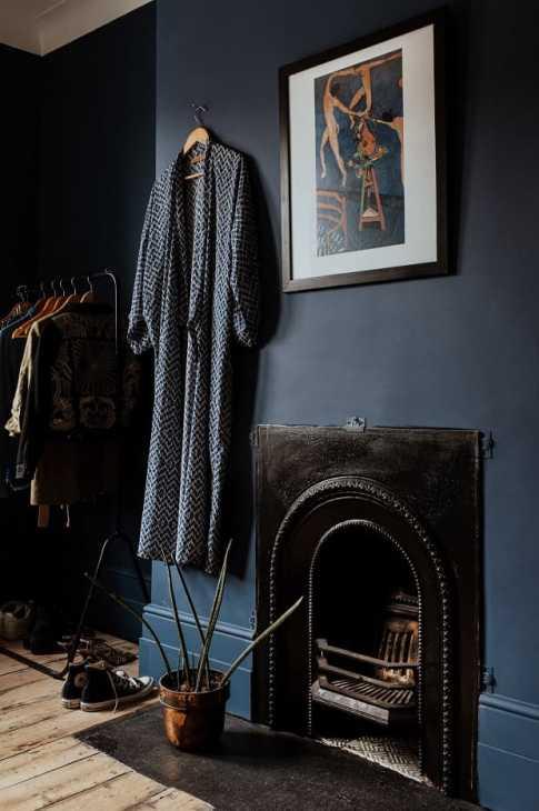 Il camino nel vintangi, da apartmenttherapy.com