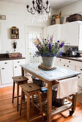 Il vintangi in cucina, da farmhouseroom.com