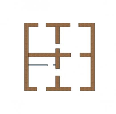 Carenze strutturali edifici muratura: pianta di forma regolare