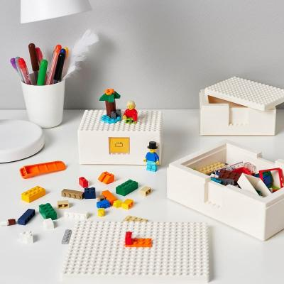 Le scatole Bygglek di Ikea-Lego