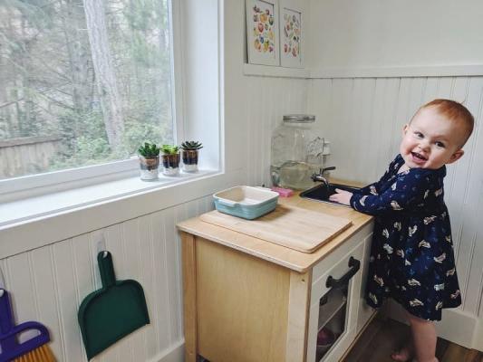 Cucina Montessori, da montessoriinreallife.com