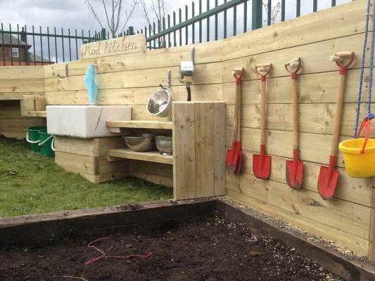 Outdoor Montessori, da aroundthethicket.com