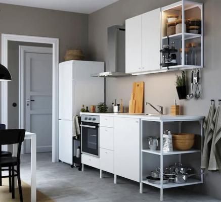 Cucine low cost componibili, IKEA, linea Enhet