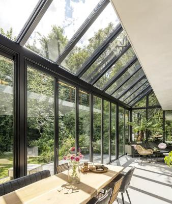 L'orientamento del giardino inverno, da solarlux.de