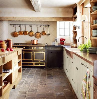 Cucina casa di campagna, da coolchicstylefashion.com
