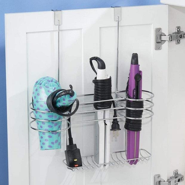 Accessorio dove contenere phon e strumenti piega capelli su Amazon