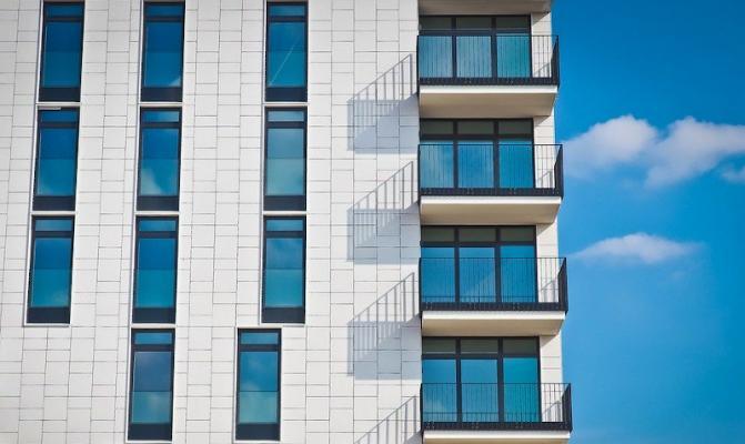 Ristrutturazione facciata moderna