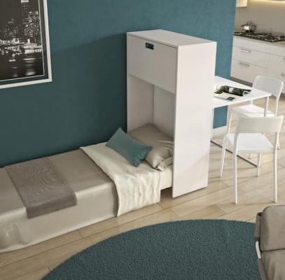 Mobile letto per ospiti con tavolo - Maconi