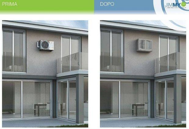 Decorative Outdoor Air Conditioner Cover  from media.lavorincasa.it